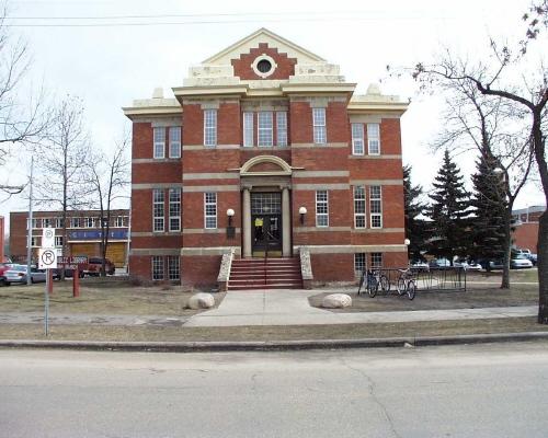 West facade