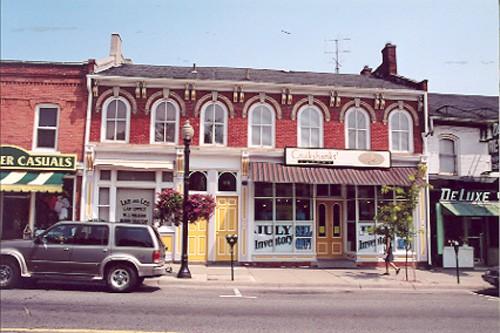 View of main (south) façade – July 2001