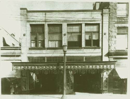 Capitol Theatre Façade - c.1923