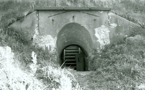 Entrance to Lower Battery