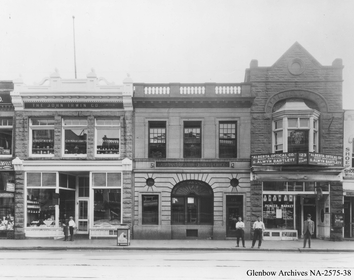 1924 view of the front elevation