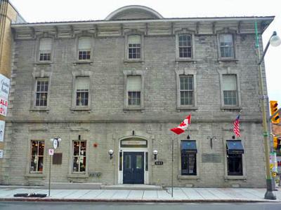 Front façade