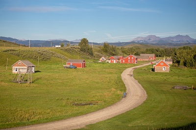 General view of Bar U Ranch